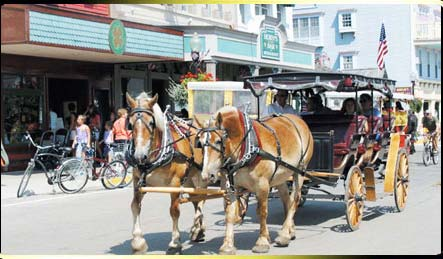 Carriage Ride in Mackinac